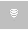 balloon journey computer symbol vector image
