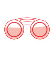 fashion sunglasses isolated vector image vector image