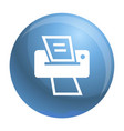 modern home printer icon simple style vector image
