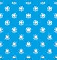 sun energy pattern seamless blue vector image vector image