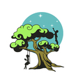 The dream tree vector image