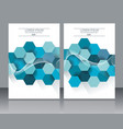 abstract design templates brochures cover or vector image vector image