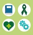 mental health day psychology medical treatment vector image