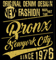 Newyork city typography slogan t-shirt graphics