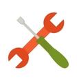 Set of screwdriver hand tool worker instruments vector image vector image