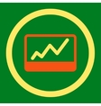 Stock Market icon vector image