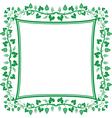vine frame vector image