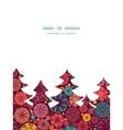 abstract decorative circles Christmas tree vector image vector image