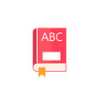 Book flat icon education and school element