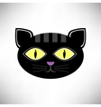 Head Cat Icon vector image vector image