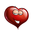 Heart Faces Hey Sweetie vector image vector image