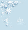 light blue card vector image vector image