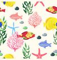 ocean party vector image vector image