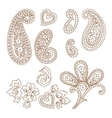 Paisley patterns vector image vector image