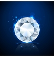 Shiny sparkling Diamond vector image