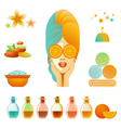 Spa Accessory Set vector image vector image