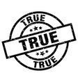 true round grunge black stamp vector image vector image