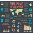 Auto gasoline service infographics vector image