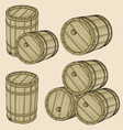 barrels vector image vector image