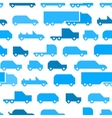 Flat with simple little cars seamless vector image vector image