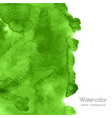 greenery watercolor texture background vector image vector image