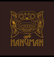 hanuman mask of ramayana story vector image vector image