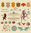 Heraldry design elements