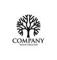 line art bonsai tree logo design inspiration vector image