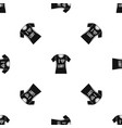 t-shirt i love lgbt pattern seamless black vector image vector image