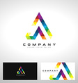 A Letter Logo Design vector image vector image