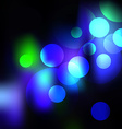 Abstract background with lights in eps vector image vector image