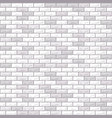 brick wall grey vector image