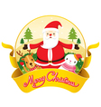 Christmas Banner And Decoration vector image