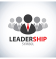 Leadership symbol icon vector image vector image