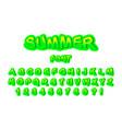 modern youth font for print logo emblem vector image vector image