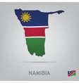 namibia vector image vector image