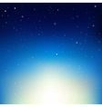 Stars In Night Sky vector image vector image