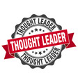 thought leader stamp sign seal vector image vector image