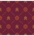 Wallpaper in royal baroque style vector image