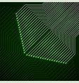 abstract technology background with circuit board vector image