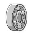 car bearing auto center repair vector image vector image