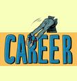 career jump businessman business vector image vector image