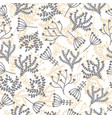 cute seamless pattern floral stylish background vector image vector image