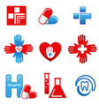 MedicalIcons vector image vector image