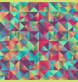 minimal abstract polygonal gradient triangle vector image vector image