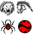 tribal animals vector image
