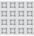White abstract cubes 3D seamless pattern vector image vector image