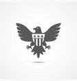 american eagle icon vector image vector image
