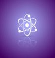 Atom icon vector image vector image