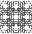 seamless geometric pattern monochrome graphic vector image